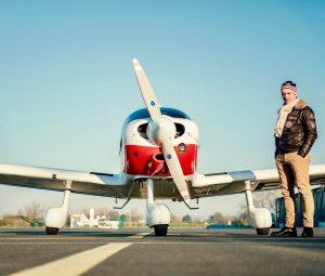 Aircraft using SAM Part-M Light aviation maintenance software